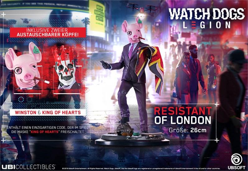 Watch Dogs Legion - Figur Resistant