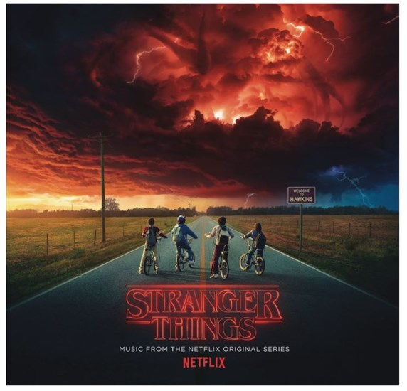 Stranger Things - Vinyl Soundtrack 2 LP rot Limited Edition