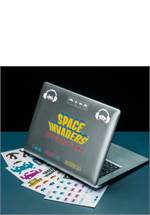 Space Invaders - Sticker