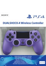 PS4 Dualshock 4 Controller Electric Purple
