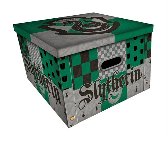 Harry Potter - Aufbewahrungsbox Slytherin (only online!)
