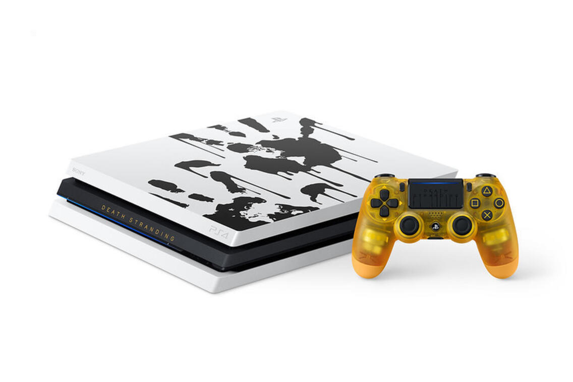 PlayStation 4 Pro 1TB Konsole Death Stranding Limited Edition