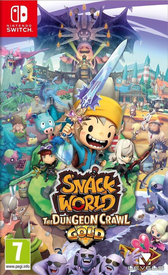 Snack World: Die Schatzjagd - Gold