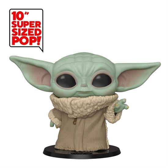 Star Wars - POP!-Vinyl Figur Baby Yoda (Super Size)