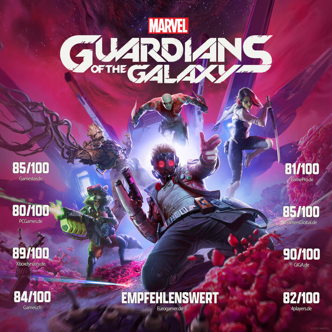 MARVEL Guardians of the Galaxy Screenshot